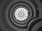 Monochrome Art - NYC Guggenheim by Nina Papiorek