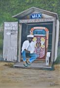 """juke Joint"" Framed Prints - O11 Framed Print by Dave Coleman"