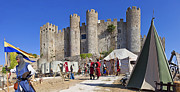 Medieval Castle Photos - Obidos Castle by Lusoimages  