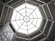 Octagon Prints - Octagon Skylight Print by Yali Shi