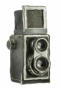 Aperture Digital Art - Old Still Camera by Michal Boubin