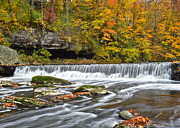 Ebb And Flow Prints - Olmstead Falls Ohio Print by Robert Harmon