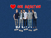 All Art Styles Posters - One Direction Poster by Dave Rushen