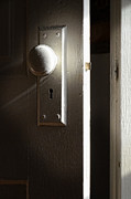 Knob Posters - Open Door Poster by Jill Battaglia