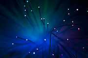 Data Photo Originals - Optical fibers by Deyan Georgiev