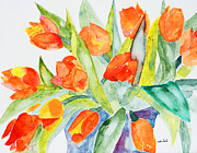 Wade Binford - Orange Holland  Tulips