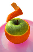 Fresh And Healthy Prints - Oranple Print by Richard Piper