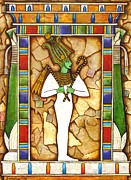 Egyptian Art Prints - Osiris Print by Joseph Sonday