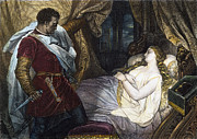 Desdemona Metal Prints - OTHELLO, 19th CENTURY Metal Print by Granger