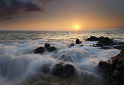 Ebb Photos - Over the Rocks by Mike  Dawson