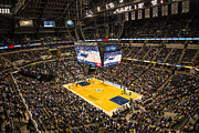 Pacers Photo Prints - Pacers Indiana Print by David Haskett