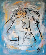 Worldwide Art Prints - 2 PacTupac Shakur painting art poster Print by Kim Wang