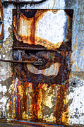 Jim Wright Art - Paint and rust 13 by Jim Wright