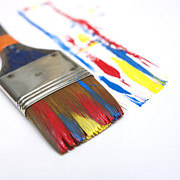 Creativity Art - Paintbrush by Bernard Jaubert