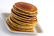 Honey Posters - Pancakes with syrup Poster by Gert Lavsen