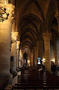 Inside Prints - Paris France - Notre Dame de Paris - 01132 Print by DC Photographer