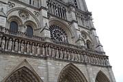 Paris France - Notre Dame De Paris - 01138 Print by DC Photographer