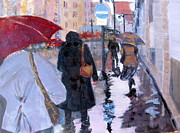MaryAnne Ardito - Paris in the rain
