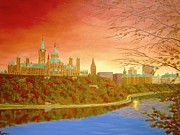 Darlene Agner - Parliament Hill Sunset