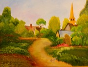 Mary Snyder - Pathway to Church