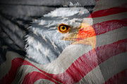Fourth Photo Prints - Patriot Print by Ron Day