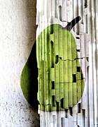 Pear Print by Elena Nosyreva