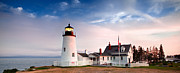 Pemaquid Lighthouse Art - Pemaquid Lighthouse by Emmanuel Panagiotakis