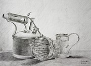 Stephan Grixti - Pencil Still Life