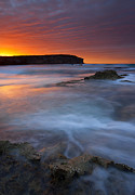 Pennington Bay Metal Prints - Pennington Dawn Metal Print by Mike  Dawson
