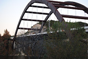 Pennybacker Bridge Prints - Pennybacker Bridge Print by Mary Maule