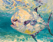 Permit Paintings - Permit Study by Mike Savlen