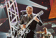 Arts Culture And Entertainment Originals - Peter Furler NEWSBOYS by Don Olea