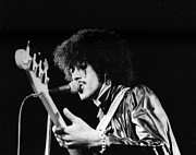 Irish Rock Band Metal Prints - Phil Lynott Metal Print by David Fowler