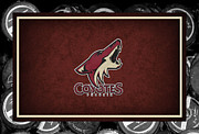 Skate Photos - Phoenix Coyotes by Joe Hamilton