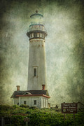 Cliffs Posters - Pigeon Point Light Station Poster by Erik Brede