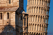 Leaning Building Photos - Pisas Leaning Tower by Brian Jannsen