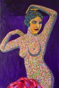 Pointillism Art - Pisces Woman by Gerhardt Isringhaus