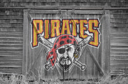 Glove Framed Prints - Pittsburgh Pirates Framed Print by Joe Hamilton