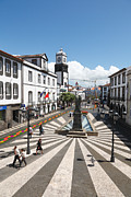 Gaspar Avila Art - Ponta Delgada - Azores by Gaspar Avila