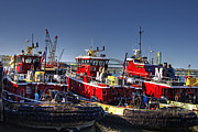 Fishing Art - Portsmouth Tugs by Joann Vitali