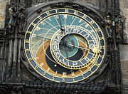 Orloj Prints - Prague Astronomical Clock Print by Gregory Dyer