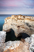 Mediterranean Landscape Framed Prints - Praia da Marinha with Love Framed Print by Andre Goncalves
