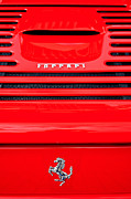 Automobile Photo Prints - Prancing Horse Print by Peter Tellone