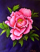 Flower Still Life Prints Prints - Pretty In Pink Print by Anne Barberi