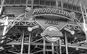 Baseball Field Framed Prints - Progressive Field Framed Print by David Bearden