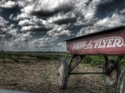 Linders Prints - Radio Flyer Print by Jane Linders