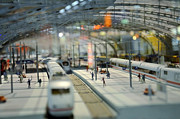 Railway Station Print by Gynt
