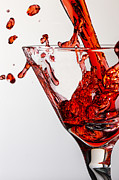 Glass Photo Originals - Random Red by Jon Glaser