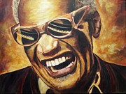 Ray Charles Art - Ray Charles by Christian Carrette