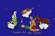 Star Of Bethlehem Photo Posters - Reason For The Season 4 Poster by Lydia Holly